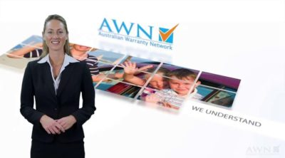 Corporate Video - Motion Graphic Style with Presenter - Australian Warranty Network
