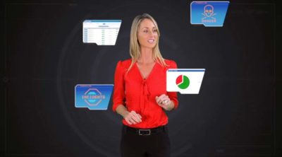 Corporate Video - Motion Graphics With Presenter - SynergyLink - Retail