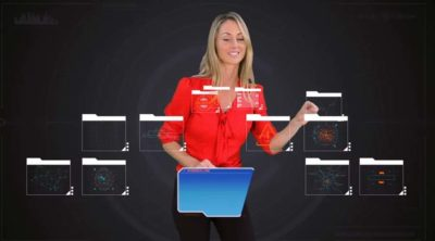 Corporate Video - Motion Graphics With Presenter - SynergyLink