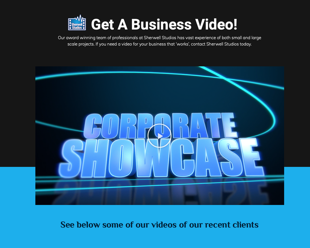 Business Videos By Sherwell Studios