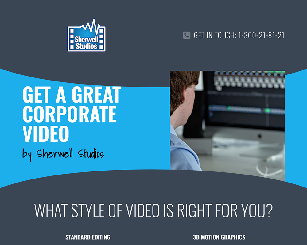 Corporate Videos By Sherwell Studios