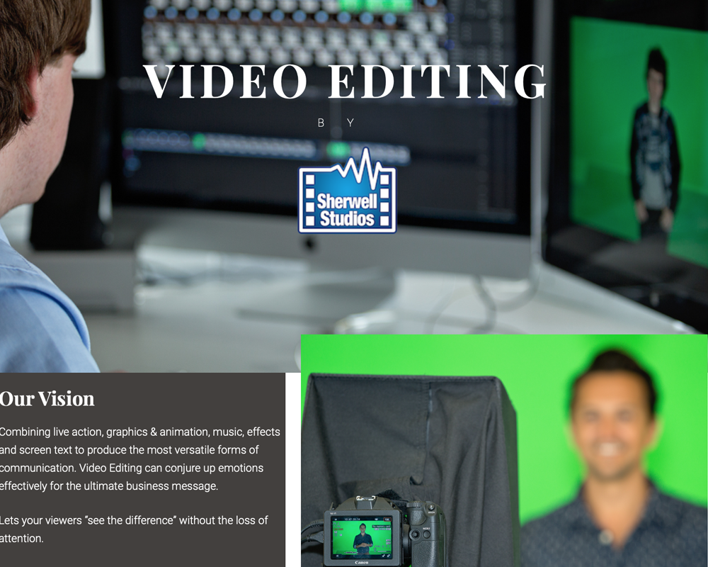 Video Editing By Sherwell Studios